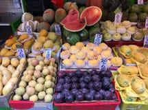 Магазин плодоовощ Гонконга Стоковое Фото