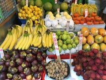 Магазин плодоовощ Гонконга Стоковые Фото