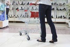 магазин покупкы ботинка Стоковые Изображения RF