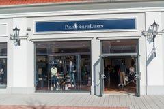 Магазин Поло Ральф Лорен в Parndorf, Австрии Стоковые Фотографии RF