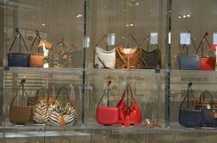 Магазин портмона kors Майкл стоковые фотографии rf