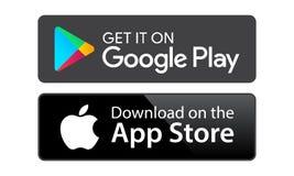 Магазин приложения игры Google бесплатная иллюстрация
