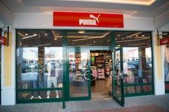 Магазин пумы в Parndorf, Австрии Стоковая Фотография RF