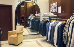 Магазин платья человека Стоковая Фотография RF