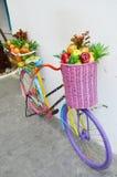Магазин плодоовощ велосипеда Стоковые Фото