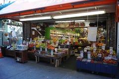 Магазин плодоовощ в Бруклине Стоковая Фотография