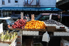 Магазин плодоовощ в Бруклине Стоковая Фотография RF