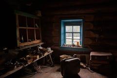Магазин работы по дереву в деревне Стоковые Фотографии RF