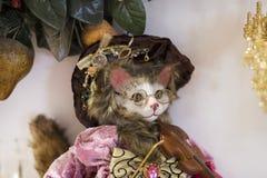 Магазин рождества сувениров и ювелирных изделий в городке Sainte-Andr в Венгрии Стоковые Изображения RF