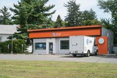 Магазин розничной торговли AT&T AT&T Inc американские Радиосвязи Корпорация IX стоковая фотография rf