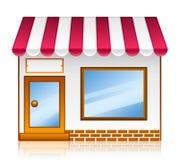 магазин рынка Стоковое Изображение
