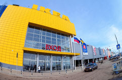 Магазин самары IKEA Стоковые Фото