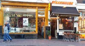 Магазин семени Sensi в Амстердаме Стоковое Фото