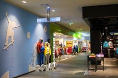 Магазин спорта Стоковое фото RF