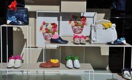 магазин способа итальянский роскошный Стоковая Фотография RF