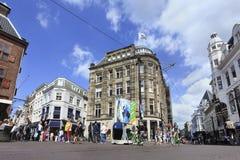 Магазин способа Maison de Bonnterie, Гаага, Голландия Стоковые Изображения RF