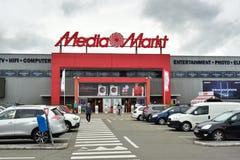 Магазин средств массовой информации-Markt Стоковая Фотография