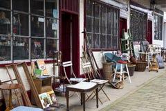 магазин старья yorkshire Англии Стоковое Изображение RF