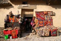 Магазин сувенира в Перу стоковые изображения rf