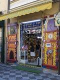 Магазин сувенира в Прага Стоковое Фото