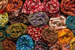Магазин ткани в Индии Стоковое Изображение