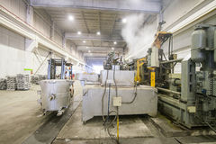 Магазин фабрики для выплавки металла Стоковые Фото