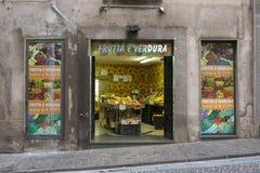 Магазин фрукта и овоща Стоковое Изображение
