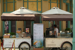 Магазин фуры, деревня Сучжоу Стоковое Изображение