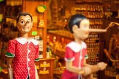 Магазин Флоренс Pinocchio Стоковое Фото
