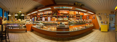 магазин хлебопекарни Стоковые Изображения RF
