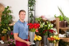 магазин цветка florist стоковое фото