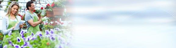 Магазин цветков Стоковое Фото