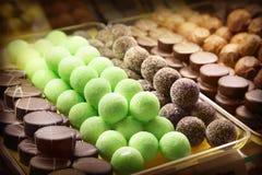 магазин шоколада Стоковая Фотография RF