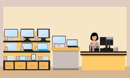 Магазин электроники Стоковые Фото