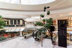 Магазин людей в моле роскоши города покупок вены Стоковая Фотография