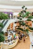 Магазин людей в моле роскоши города покупок вены Стоковая Фотография RF