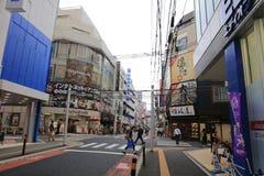 Магазин людей в Хиросиме, Японии Стоковая Фотография RF