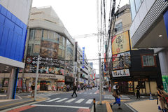 Магазин людей в Хиросиме, Японии Стоковое Изображение