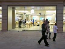 магазин яблока Стоковое Изображение