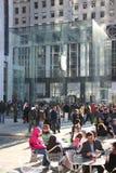 магазин яблока redisigned manhattan Стоковая Фотография