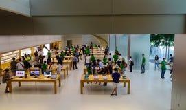 Магазин Яблока в саде Rd, Сингапуре Стоковое Фото