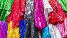магазин для материалов одежды Стоковые Изображения