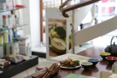 Магазин для органических продуктов в Риме Стоковое Фото