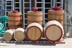 магазин 2006 в сентябре kefalonia оборудования argostoli Стоковое Изображение