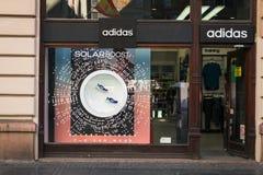 Магазин Adidas стоковые изображения