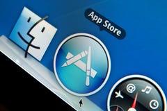 магазин app Стоковая Фотография RF