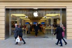 Магазин Apple Стоковое Изображение