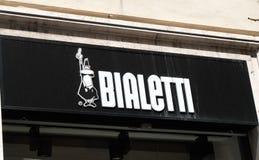 Магазин Bialetti в Риме Стоковые Изображения RF