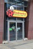 Магазин Biedronka стоковое изображение rf