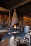 магазин blacksmith старый Стоковые Фотографии RF